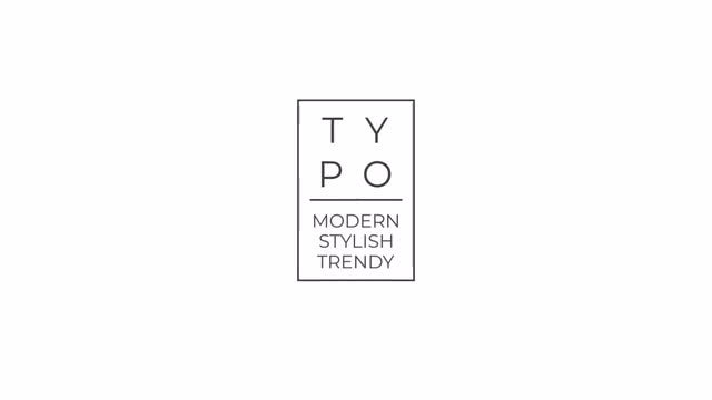 Elegant Black & White Typo: Premiere Pro Templates
