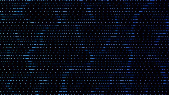 Motion Blue Dots 4K: Stock Motion Graphics