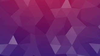 Cinematic Triangles Background: Motion Graphics