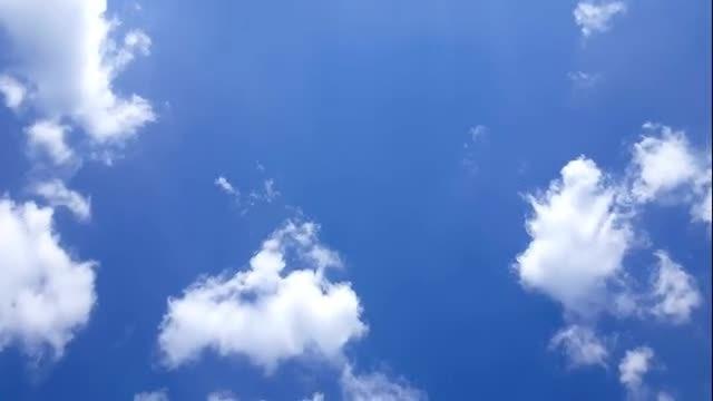 Clouds Pass Diagonally: Stock Video