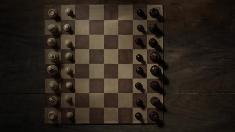 Chess Game Set Up: Stock Video