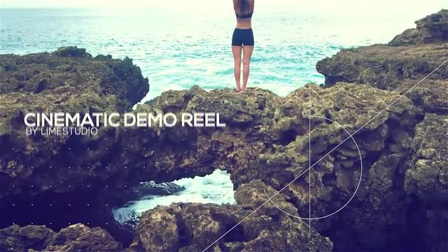 Cinematic Demo Reel: After Effects Templates