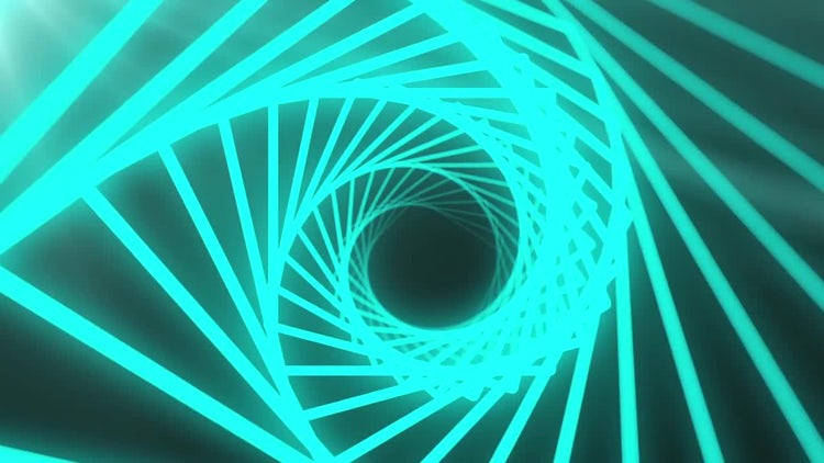 Shining Spiral: Motion Graphics