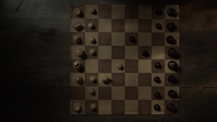 Opening In Chess Game: Stock Video