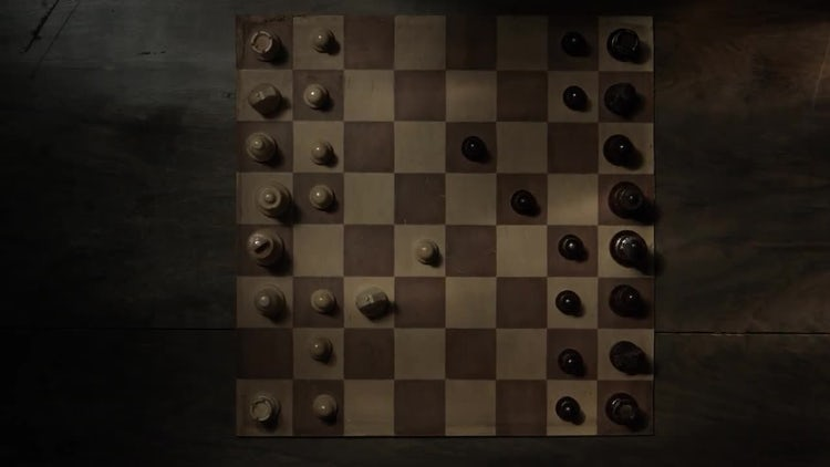 Game Of Chess: Stock Video