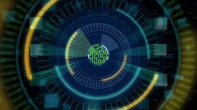 Fingerprint Scan Interface Pack: Stock Motion Graphics