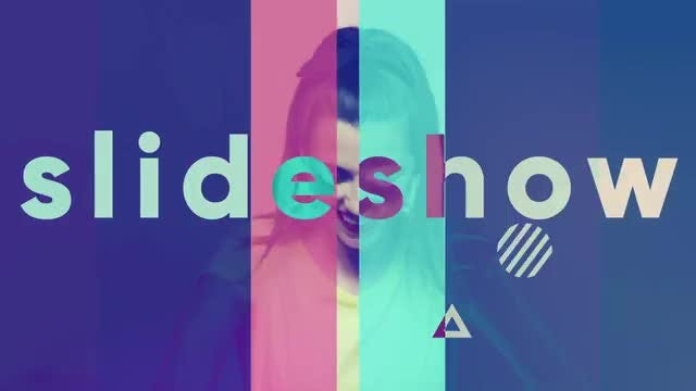Colorful Stomp Intro: After Effects Templates