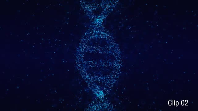 Plexus DNA 02: Stock Motion Graphics