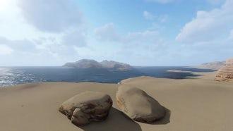 Desert Montain: Motion Graphics