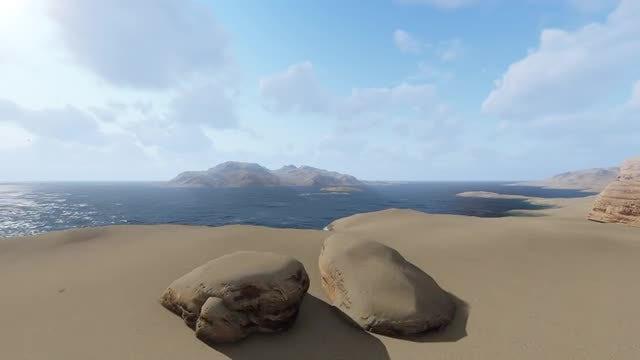 Desert Montain: Stock Motion Graphics