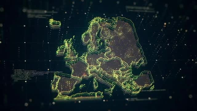 Europe Map Pack: Stock Motion Graphics