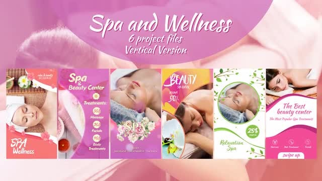 Spa And Wellness Package: After Effects Templates