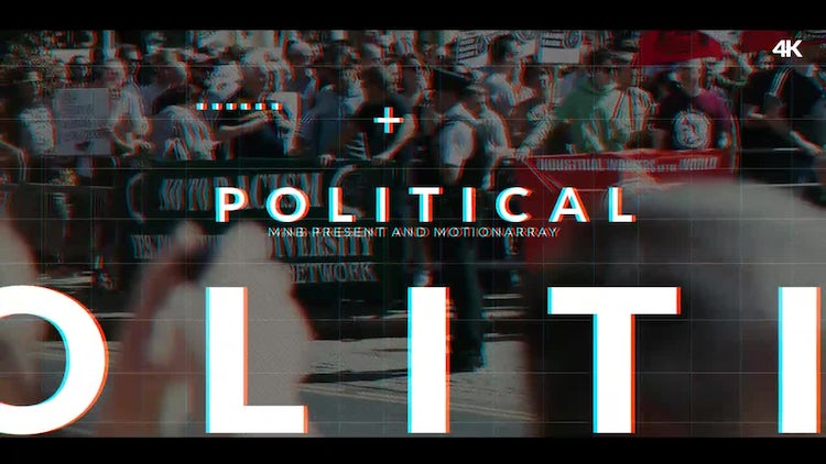 Political Intro: After Effects Templates