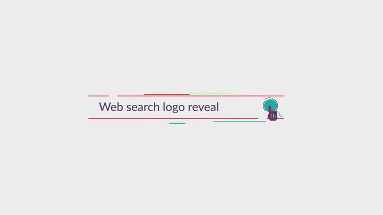 Corporate Web Search Logo: After Effects Templates