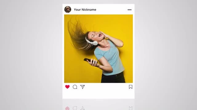 Instagram Layout: Stock Motion Graphics