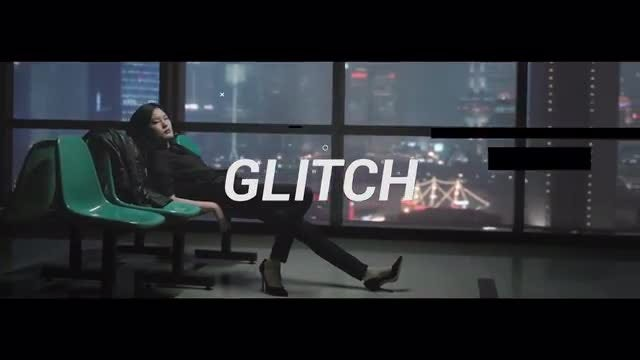 Dynamic Glitch Slideshow: Premiere Pro Templates