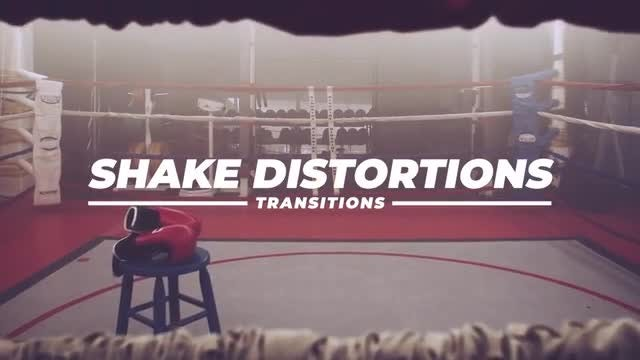 Shake Distortion Transitions: Premiere Pro Presets