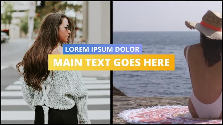 Clean Summer Intro: After Effects Templates