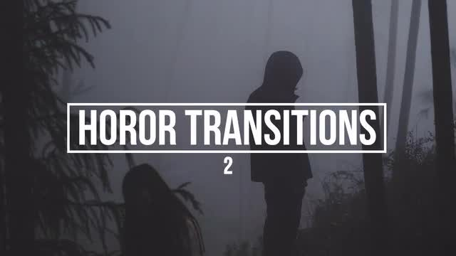 Horror Transitions 2: Premiere Pro Presets