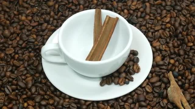 Cinnamon Coffee: Stock Video