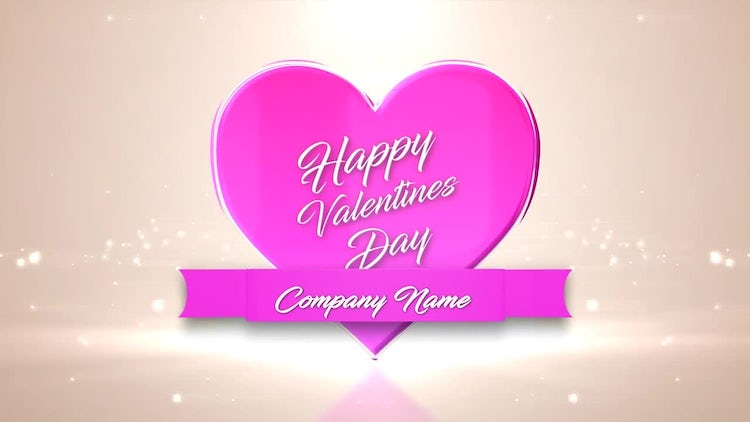 Logo Valentines: After Effects Templates