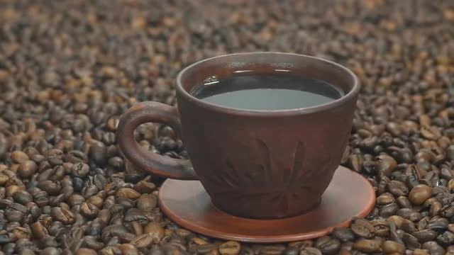 Hot Coffee: Stock Video