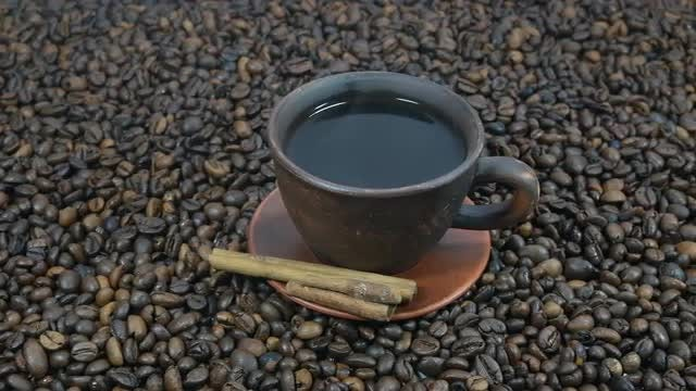 Black Coffee: Stock Video