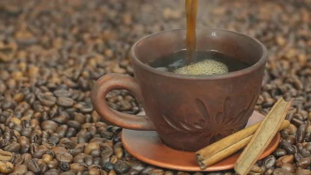 Pouring Coffee: Stock Video