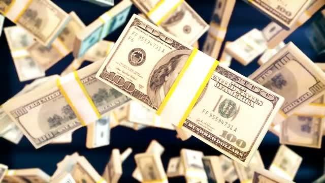 Flying Money: Stock Motion Graphics