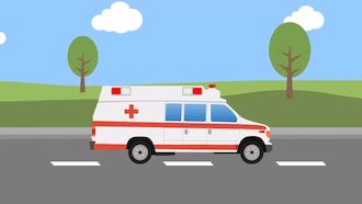 Ambulance Ride: Stock Motion Graphics