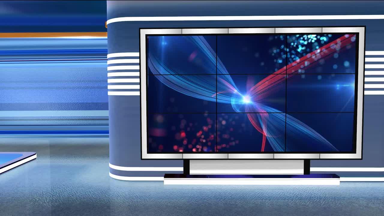 Virtual Studio Newsroom C2 - Stock Motion Graphics | Motion Array