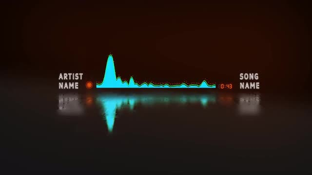 Audio Spectram: After Effects Templates