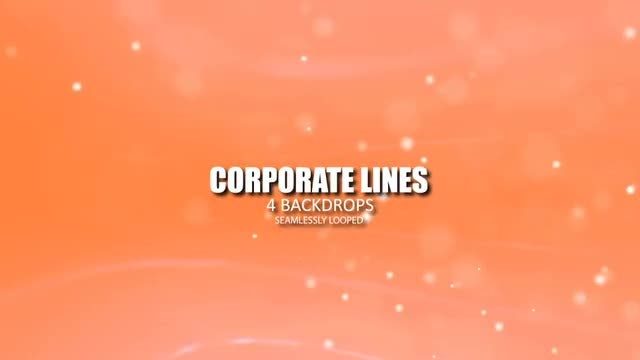 Corporate Lines: Stock Motion Graphics
