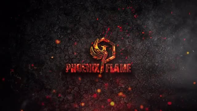 Fire Particle Logo: After Effects Templates