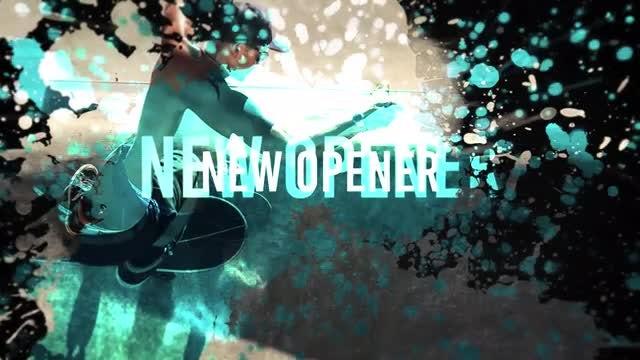 Grunge Rock Opener: Premiere Pro Templates