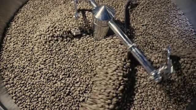 Coffee Dryer: Stock Video