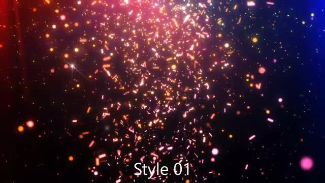 Confetti Particles Pack: Stock Motion Graphics
