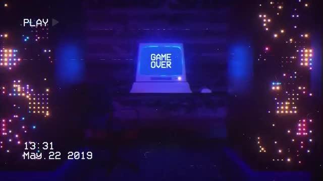 VHS Computer Logo: Premiere Pro Templates