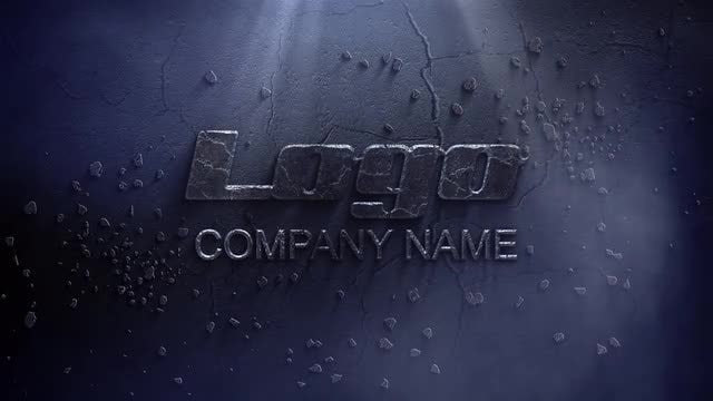 Stone Logo In The Dark: After Effects Templates