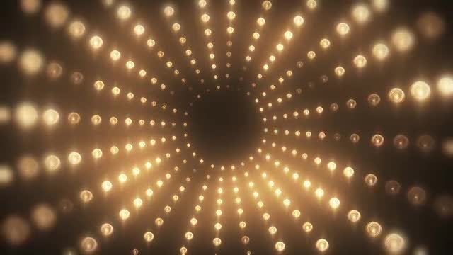 Radial Lights VJ Background: Stock Motion Graphics