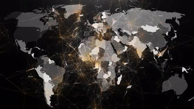 Global Networks: Stock Motion Graphics