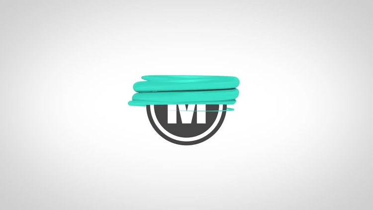 Drops Logo Reveal: After Effects Templates