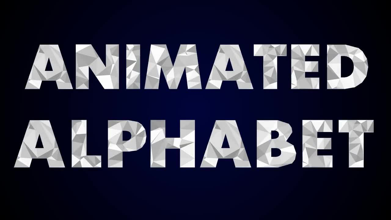 Animated Alphabet of Crumpled Paper - Motion Graphics ...