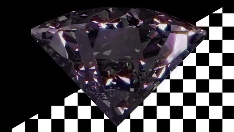 Diamond Rotation V1: Stock Motion Graphics