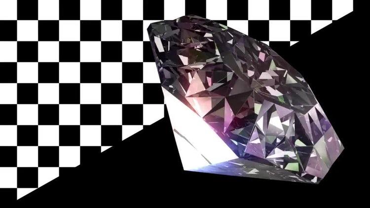 Diamond Rotation V2: Stock Motion Graphics