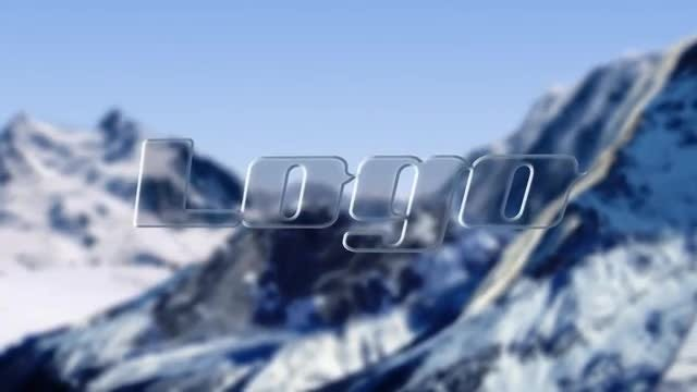 Logo In Mountain: After Effects Templates