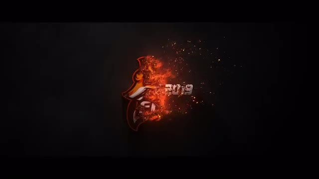 Burning Logo: After Effects Templates