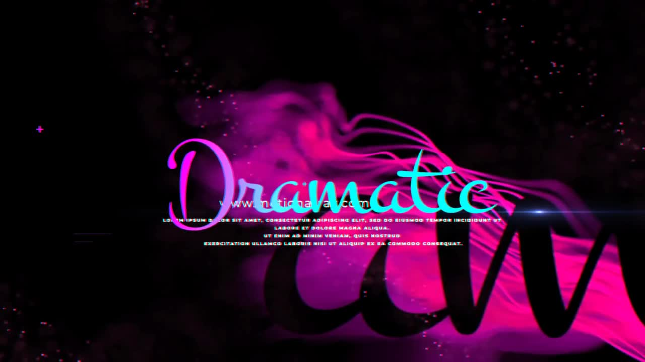Dramatic Film Intro After Effects Templates Motion Array
