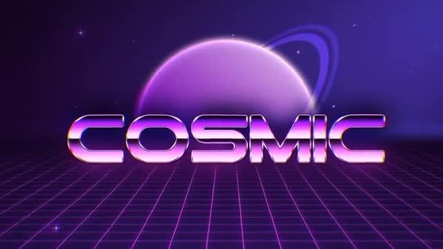 80s Retro Pack: After Effects Templates
