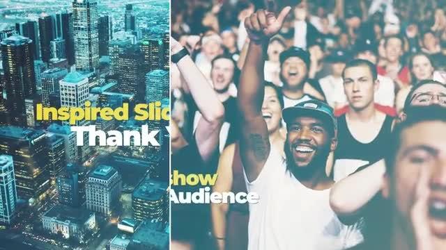 Inspired Slideshow: Premiere Pro Templates